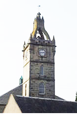 Image of East Kilbride Village Clocktower. East Kilbride is one of the areas where Lamont Blair Chartered ZAccountants offer their services in tax, trusts, payroll, bookkeeping, accounts preparation and budgeting.